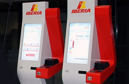 Quick Service Point – Picture: Iberia