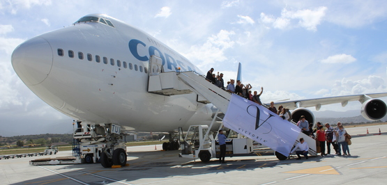 Incentive trips: how chartering an aircraft can contribute to the success of your event