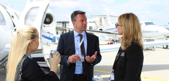 EBACE: Pro Sky customers discover private jets first hand