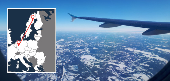 New: Non-stop flights from Cologne to Swedish Lapland