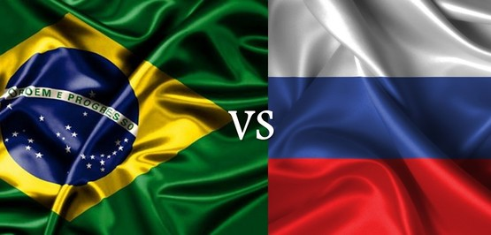 Kick off for the Brazil vs. Russia friendly match!